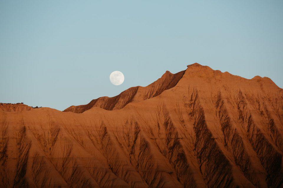 Road trip dans le désert des Bardenas Reales en Espagne