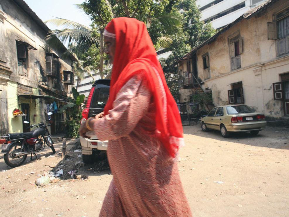 Les rues de Mumbai