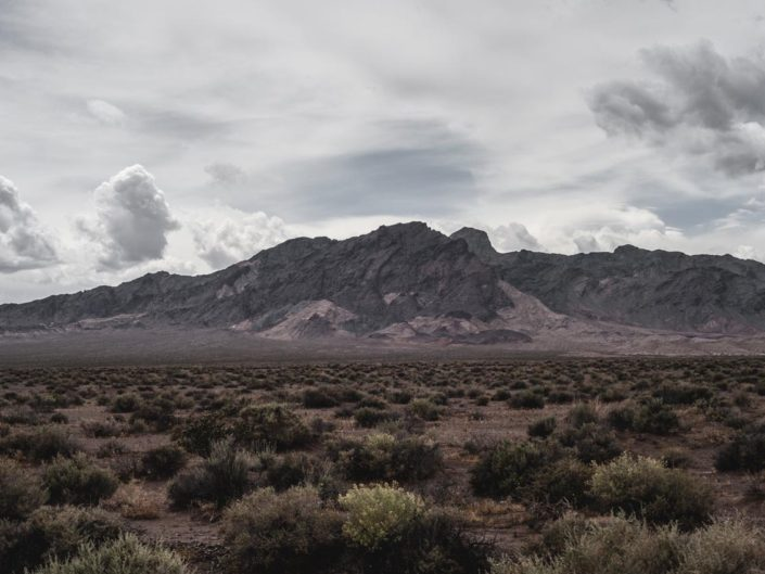une montagne de Death Valley