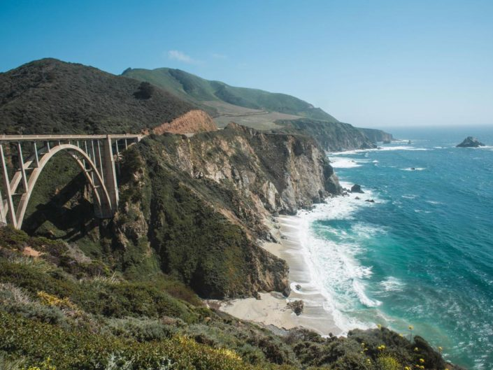 Bixby bridge en Californie