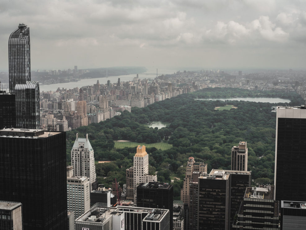 central park top of the rock