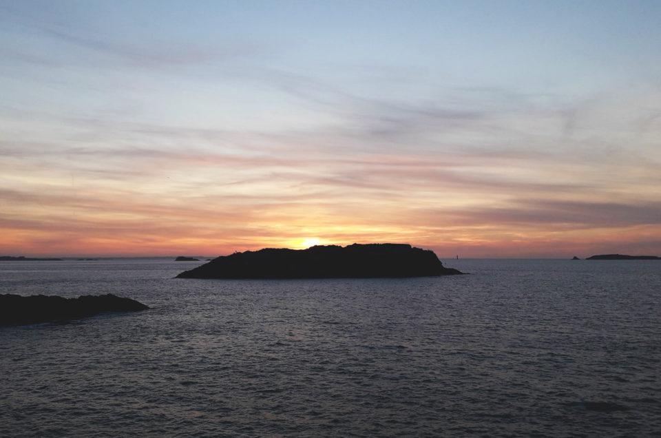 coucher de soleil bretagne
