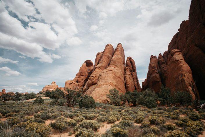randonnee arches national park