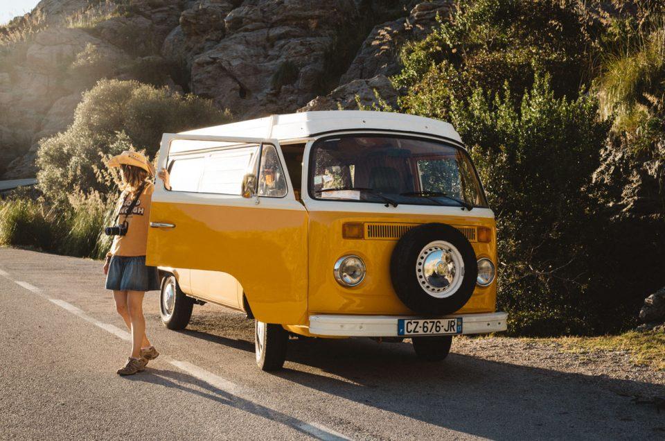 road trip majorque van