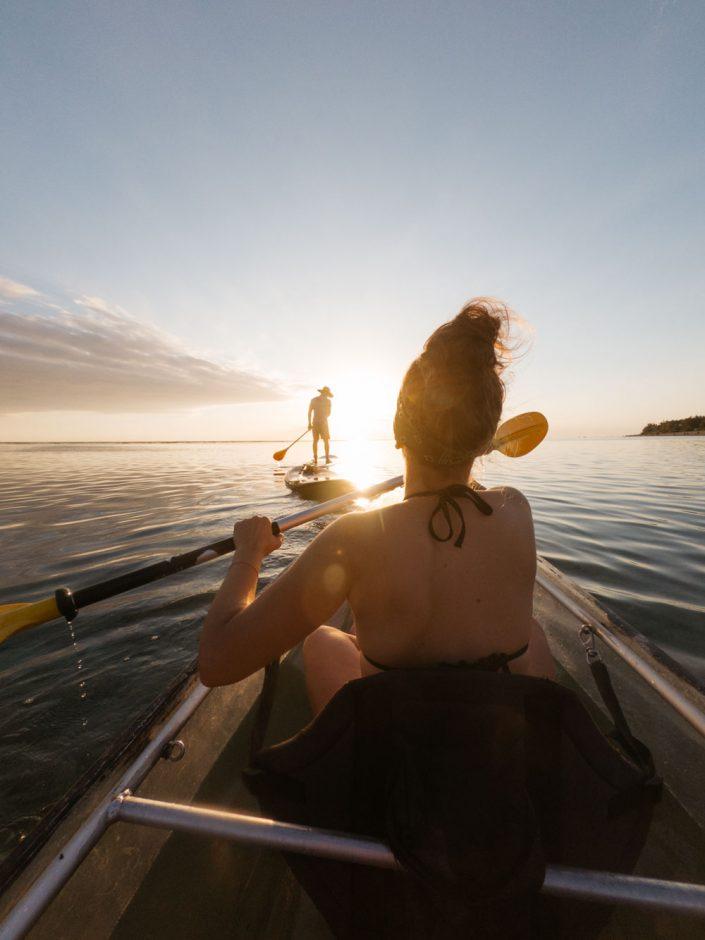 faire du kayak a la reunion
