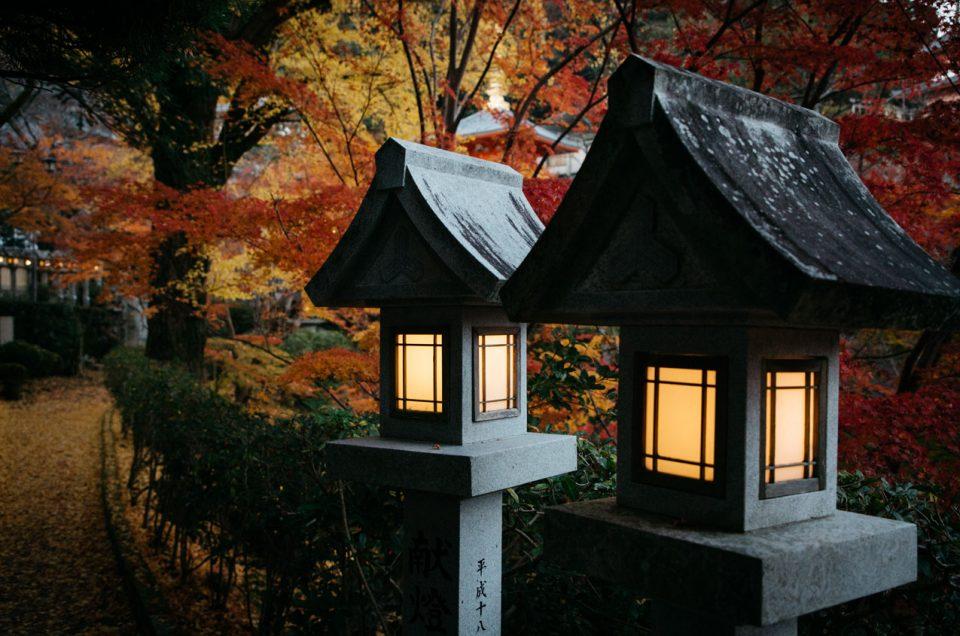 dormir dans un temple au japon