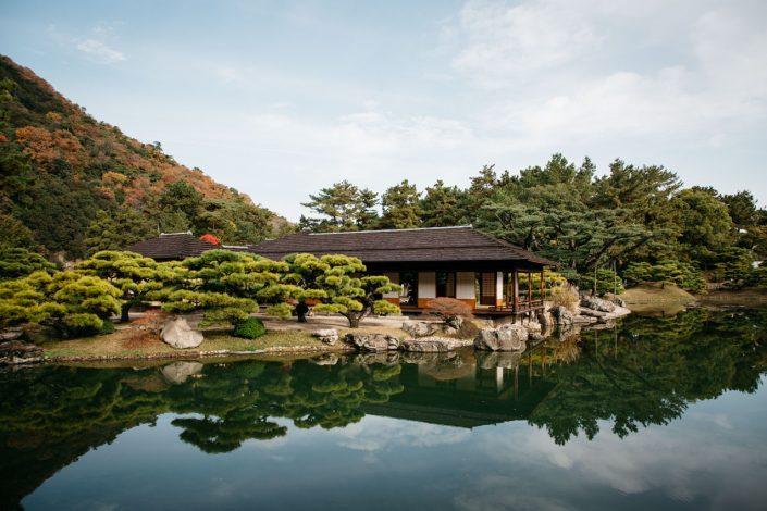 le jardin ritsurin takamatsu