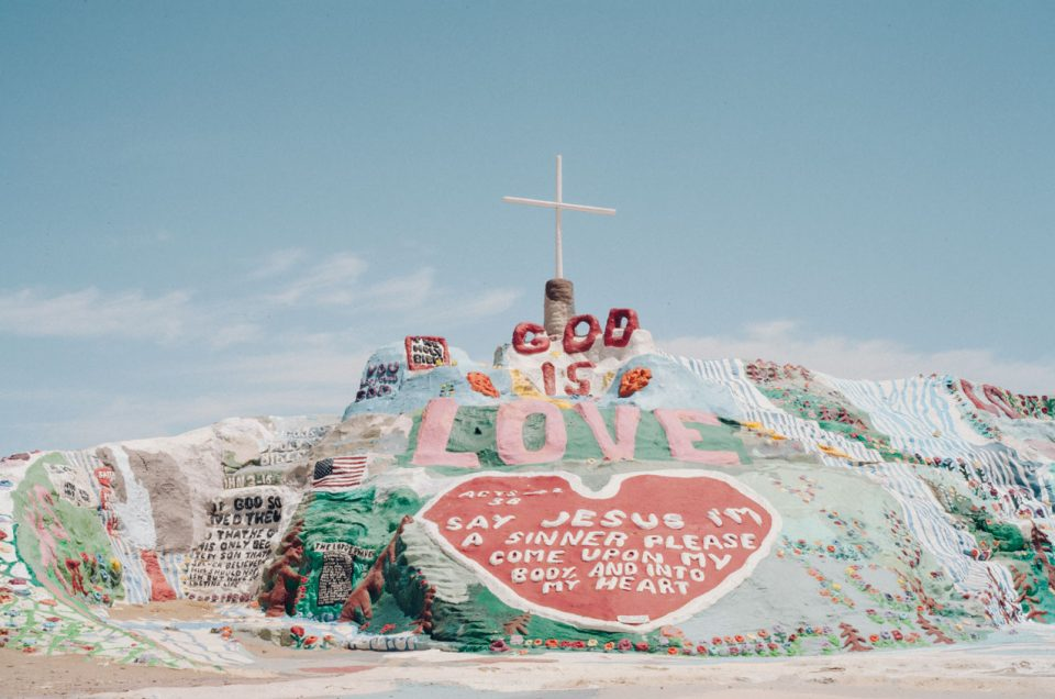 visiter la salvation mountain